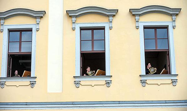 Die Hochschule für Musik FRANZ LISZT Weimar feierte am 24. Juni ihren 148. Geburtstag - mit einem Open-Air-Konzert