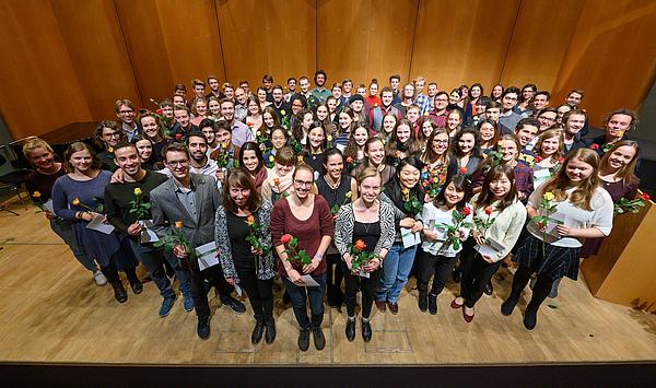 Feierliche Immatrikulation: Die HfM Weimar begrüßt 182 neue Studierende // Vergabe des DAAD- und des Franz Liszt-Preises