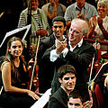 Knowledge is the Beginning. Daniel Barenboim und das West-Eastern Divan Orchestra - Musikfilm