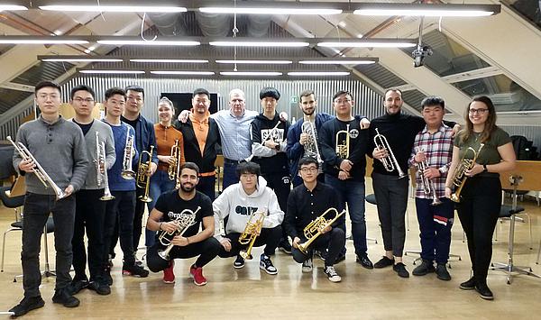 Festliche Musik für 20 Trompeten und Orgel: Gemeinsame Konzerte mit chinesischem Bläserbesuch in Jena, Erfurt und Weimar