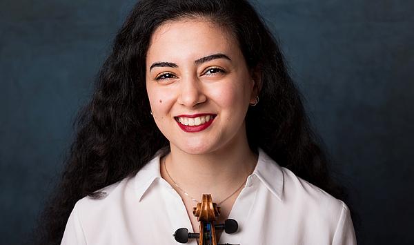 """""""Facettenreiche Ausbildung"""": Violinstudentin Sona Arzumanyan wird Mitglied der Mendelssohn-Orchesterakademie des Gewandhausorchesters Leipzig"""