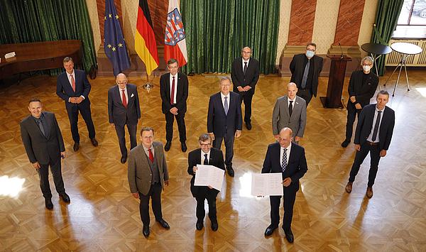 Finanzierung bis 2025 festgeschrieben: Thüringer Hochschulen und Land unterzeichnen neue Rahmenvereinbarung