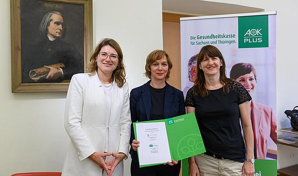 Professionelle Partnerschaft: AOK PLUS und Hochschule für Musik FRANZ LISZT Weimar machen sich für Gesundheitsförderung stark