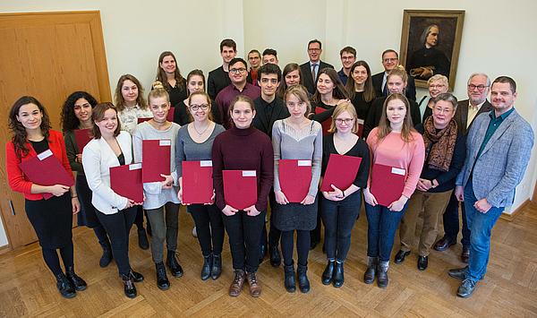 Wichtige Unterstützung für das Studium: Die Hochschule für Musik FRANZ LISZT Weimar vergibt 28 Deutschland-Stipendien