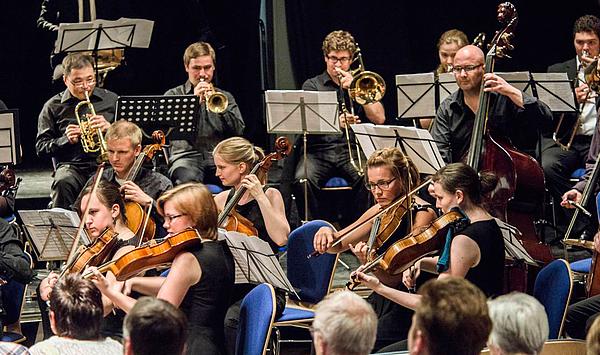 Klangvolles Doppeljubiläum: Das Collegium Musicum Weimar spielt bei den Tiefurter Montagsmusiken und im Musikgymnasium Schloss Belvedere