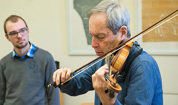 Renommierte Pädagogen aus den USA zu Gast: Meisterkurse für Violine, Klavier und Kammermusik mit Donald und Vivian Weilerstein