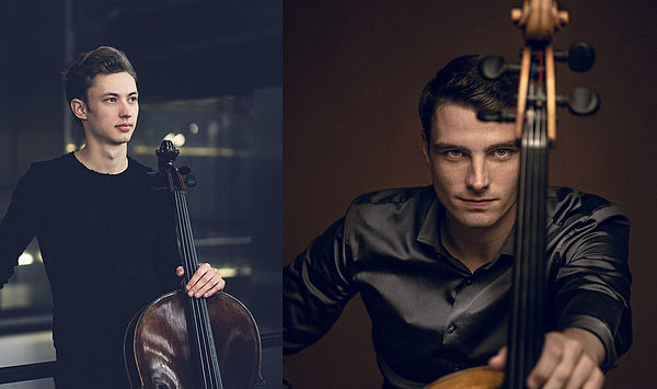 In a double act: Sebastian Fritsch and Friedrich Thiele win auditions as new concertmasters of cello of the Sächsische Staatskapelle Dresden