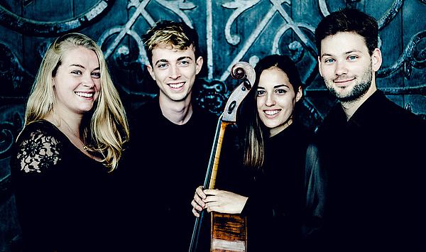 """Debüt bei den Meisterkursen: Das Londoner """"Barbican Quartet"""" spielt Streichquartette von Mozart, Britten und Brahms"""