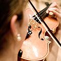 Violine im Konzert